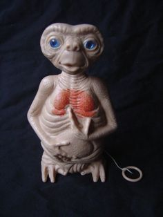 .Vintage Talking E.T doll. I had one, but I can't remember if mine talked.