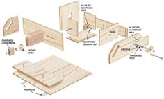 Tablesaw Tenoning Jig A precision joint-making tool for less than $30. By Frank Gregg A tablesaw tenoning jig is an essential tool for most woodworkers. But commercial units cost $100 and up, and shop-made jigs that I've tried, all riding on the fence somehow, were unstable and hard to adjust. So I devised this jig, which features the safety and stability of a crosscut sled, combined with a micro-adjust tenoning …