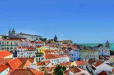 Quartier Alfama - #Portugal #Lisbonne Alfama
