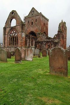 Sweetheart Abbey, Scotland