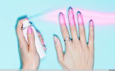 Spray On Nail Polish Is About To Change Your Life