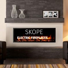 The Regency Skope Electric Fireplace heaters are a class above the rest. These premium electric fireplaces fuse high-quality craftsmanship and elegant styling. They are built-in fireplaces with stunning visuals and 3-dimensional depth. This gives the Skope series unmatched realism and a modern, clean aesthetic.