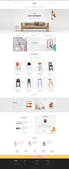 #Furniture #eCommerce #Modern - #Opencart Multi Purpose #Responsive #Theme