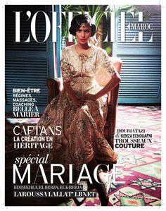 http://issuu.com/m.officiel/docs/officiel_maroc_mariage اضغطي على الصورة او على الرابط أعلاه وشاهدي صفحات مصورة من هذه المجلة بعد التسجيل في الموقع ❤️