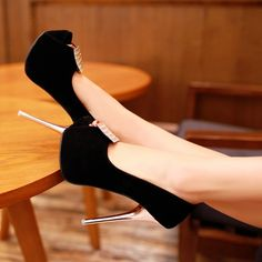 black, high heels cute sexy shoes pumps 2014 wedge and jeans vintage