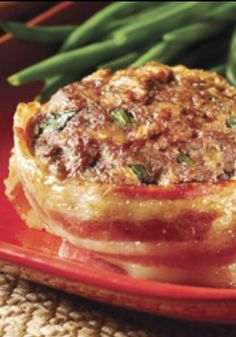 Make-Ahead Cheesy Bacon Mini Meatloaves — Keep these bacon-wrapped make-ahead mini meatloaves in the freezer for a fast, home-cooked solution to mealtime emergencies.