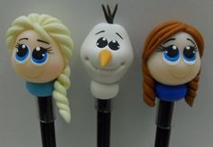 Pencil Topper Frozen