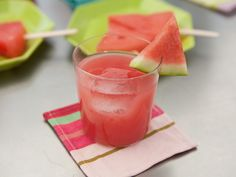 This punchy pink cocktail is easy to make in batches. Pin it now for your summer barbecues.