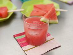 Watermelon Cosmo Punch Recipe : Geoffrey Zakarian : Food Network - FoodNetwork.com