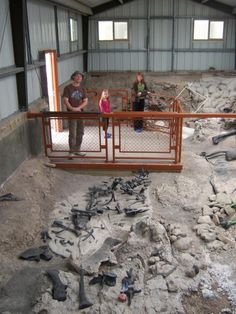Cleveland-Lloyd Dinosaur Quarry in Utah
