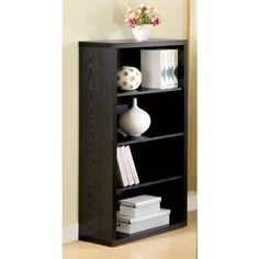 BLACK BOOK CASE STYLES | Coaster Cherry Bookcase 800567