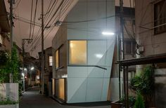 This compact private residence is nestled within the dense expanse of Tokyo, in Nishi-Azabu—a neighborhood characterized by narrow streets and traditional low-rise houses ...