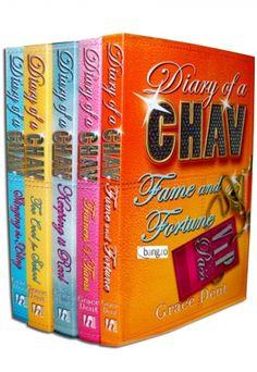 Diary of CHAV Collection of 5 Books By Grace Dent #Diary #DiaryOfAChav #Chav #Fame #Fortune #Book #ChildrensBook http://www.snazal.com/diary-of-chav-collection-5-books-set-pack-by-grace-dent--DEALMAN-U11-GraceDent-5bks.html