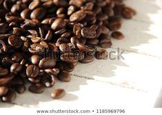 Roasted Coffe Beans: stock fotografie (k okamžité úpravě) 1185969796 Daily Photo, Roast, Beans, Food And Drink, Coffee, Roasts, Beans Recipes, Prayers, Coffee Art