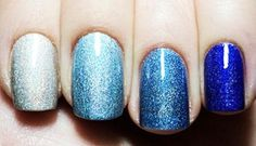 gorgeous ombre nail art and many easy nail ideas!