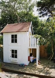 Wooden Outdoor Loft Playhouse - Google Search