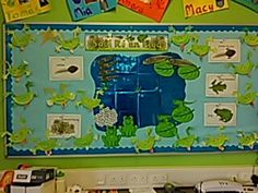Saolré an fhroig. Lifecyle of the frog display. Junior infants art and sese display Science Resources, Baby Art, Infants, Teaching Ideas, Art Ideas, Menu, Display, Character, Children