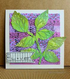 Love by Riikka Kovasin for Craft Stamper