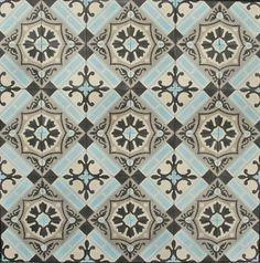 Serie LILYZ BLUE 15x15 cm Portugese tegels en cementtegels Collectie www.floorz.nl/portugese-tegels Portuguese Tiles, New Kitchen, Kitchen Ideas, Hand Painted, Painted Tiles, Belle Epoque, Toilet, House Design, Mudroom