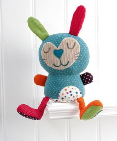 Sewing Toys Timbuktales - Rabbit Soft Toy - Timbuktales - New - Mamas Rabbit Crafts, Cardboard Toys, Sock Toys, Fabric Toys, Mamas And Papas, Sewing Dolls, Toy Craft, Cute Dolls, Diy Toys