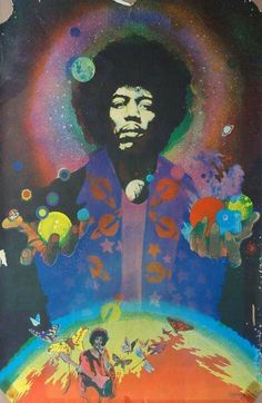 Jimi Hendrix Band of Gypsys Stop show Fillmore East Jimi Hendrix Band, Jimi Hendrix Poster, Rock Posters, Concert Posters, Psychedelic Art, Heavy Metal, Jimi Hendricks, Band Of Gypsys, Classic Rock Albums