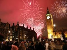 The world's best places to celebrate New Year's.