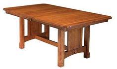 Amish West Lake Trestle Table