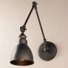 Adjustable Arm 1-Light Wall Sconce