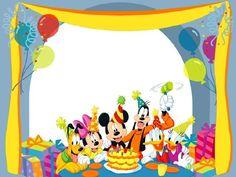 Imprimibles de Mickey y sus amigos.