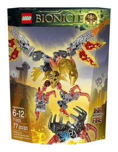Amazon.com: LEGO Bionicle Ikir Creature of Fire 71303: Toys & Games
