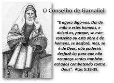 A Bíblia pela Bíblia: O conselho de Gamaliel e os desigrejados.