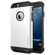 Spigen iPhone 6 Case Slim Armor Series - White | Mobile Madhouse