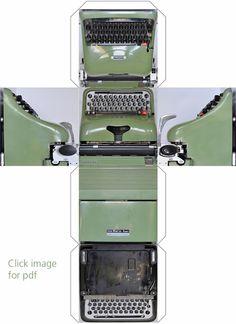 Typewriter Heaven: Paperwork #4 - Graphikube