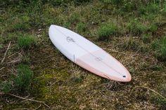 MONSTERS ARE REAL Co&Jo x Lucas Beaufort retro single fin surfboard