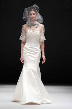 """Badgley Mischka Spring 2015 Bridal Collection """"Bacall"""" Gown"""