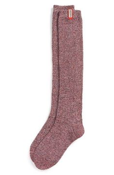 Free shipping and returns on Hunter 'Mouline' Socks (Women) at Nordstrom.com. Tall, cozy boot socks are knit from a soft, heathered cotton blend with just a touch of stretch.