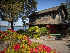 One of my favorite places on Whidbey Island -- the Captain Whidbey Inn outside Coupeville.