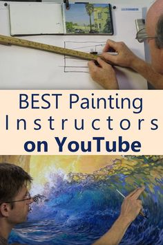 Painting and drawing on you tube seperate channels Digital Painting Tutorials, Watercolour Tutorials, Watercolor Artists, Art Tutorials, Acrylic Painting Techniques, Art Techniques, Painting Videos, Watercolor Techniques, Learn To Paint