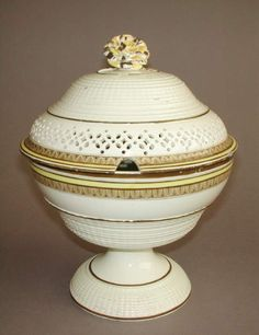 English Creamware by James and Charles Whitehead 1795 - 1810