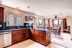 Open Concept kitchen in this Englewood, CO condo. http://osgoodteam.com/englewood.html