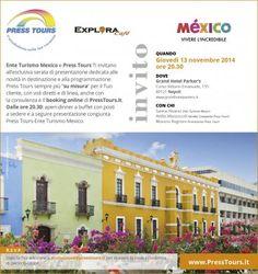 Serata Press Tours in collaborazione con l'Ente del Turismo del Mexico Napoli