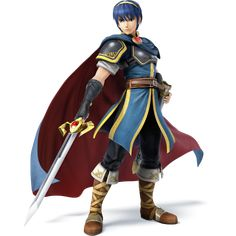 Smash Bros gets another Fire Emblem swordsman - Another Fire Emblem character is joining the cast of the next Super Smash Bros. Ike, a swordsman like the already-announced Marth, has been announced with a batch of new Super Smash Bros Melee, Smash Bros Wii, Nintendo 3ds, Wii U, Nintendo Characters, Video Game Characters, Fictional Characters, Game Character Design, Character Art