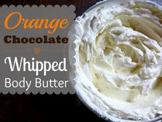 Orange Chocolate Whipped Body Butter