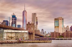 View of Manhattan from Pebble Beach DUMBO Brooklyn by Rommel Tan @rtanphoto | newyork newyorkcity newyorkcityfeelings nyc brooklyn queens the bronx staten island manhattan @lingkingman @ellistuesday @BastienGchr @Parccy