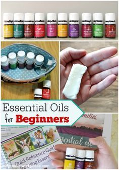 essential oils for beginners - great place to start and get a little bit of info.  I love the lavender bars-