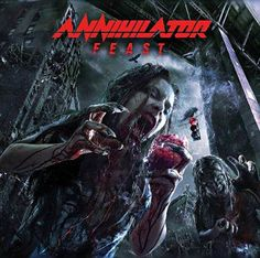 "Canadian thrash metal veterans ANNIHILATOR are preparing to film a video for the song ""No Way Out"" in Hannover, Germany. #annihilator #nowayout #feast"