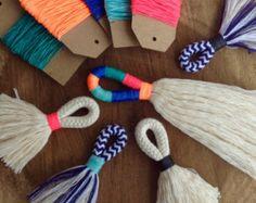 Tassel Making TUTORIAL Make your own large or mini tassels