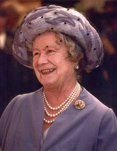 A charming smile from Her Majesty Queen Elizabeth The Queen Mother