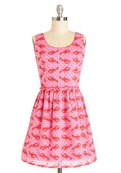 Claw and Order Dress, #ModCloth