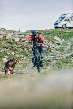 """Premiere: Der Trailer zu """"Paws &Wheels II"""" ist online! #SUNLIGHT Factory Team-Mitglied #OliDorn und Balu mit dem SUNLIGHT Cliff 4x4 Adventure #Van.  #CamperVan #VanLife #Wohnmobil #Reisemobil #MTB #Mountainbike #AustralianShepherd #Aussie #Bobil #Husbil #Autocampere #PawsAndWheels #Motorhome #RV #DogLove #TrailDog Hymer, Australian Shepherd, Campervan, Sunlight, 4x4, Trail, Freedom, Outdoors, Shapes"""